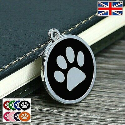 FREE ENGRAVING Dog ID / Cat ID Name Tag Disc Personalised Puppy Pet ID Tags