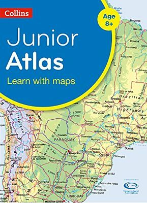Collins Junior Atlas (Collins Primary Atlases) by Collins Maps Book The Cheap