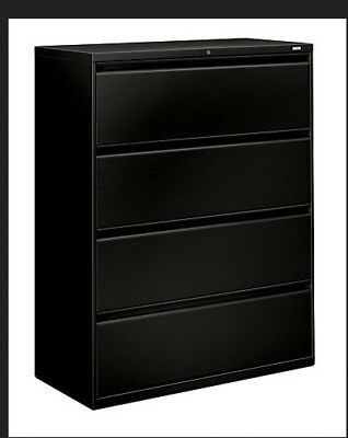 Hon Series 700 Four-drawer Lateral File- 42W X 53 1/4 H X19-1/4D