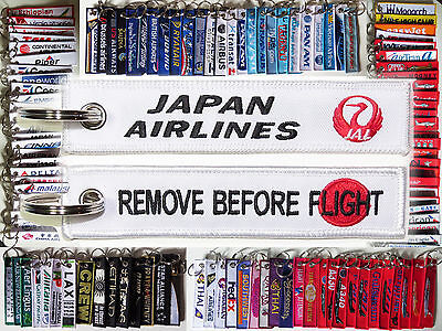 Keyring JAL JAPAN AIRLINES Remove Before Flight keychain for Pilot Crew