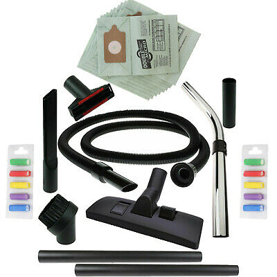 1.8m Hose 10 Bags Spare Vacuum Accessory Tool Kit for Numatic Henry Hetty Hoover