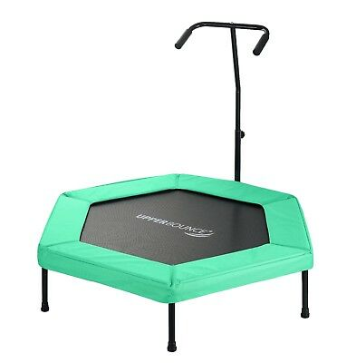 Upper Bounce Hexagonal Fitness Mini Trampoline - Three  Colours Available
