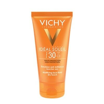 Vichy Ideal Soleil Emulsione Dry Touch SPF30 Crema Solare Viso 50 ml