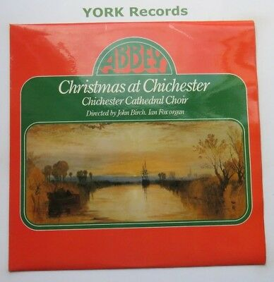 CHRISTMAS AT CHICHESTER - Chichester Cathedral Choir- Ex LP Record Abbey MVP 786