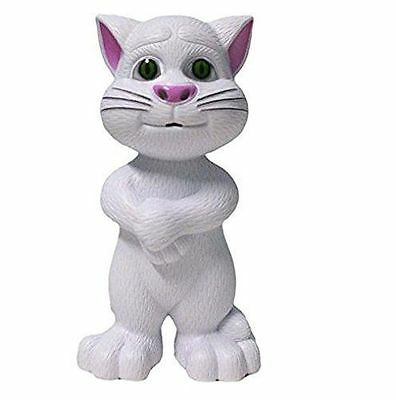 Talking Tom Cat (Repeats Everything you Say)(White)