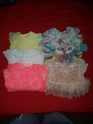 baby girls 0-3 months dresses