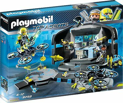Playmobil - Top Agents - 9250 - Dr. Drone´s Command Center - NEU