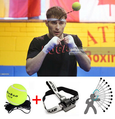 MMA Boxing Punch Training Fight Ball Sport Reflex Speed Tennis Practice Fitness