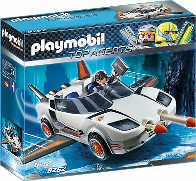 Playmobil - Top Agents - 9252 - Agent P.´s Spy Racer - NEU