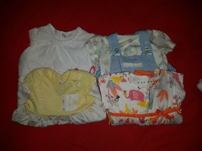 babg girl clothes bundle 0-3 months