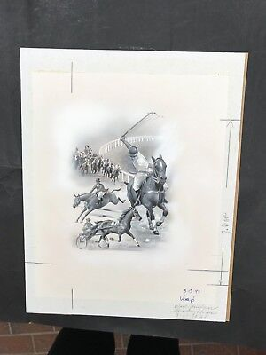 Production Artwork - Sporting Horses