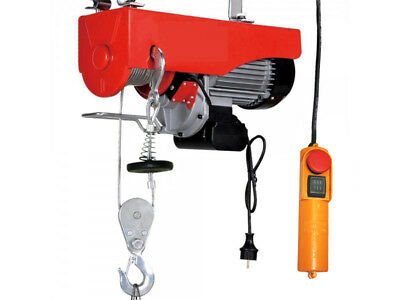 Electric Scaffold Hoist 500 / 1000 Kg, 1600W Electric Winch With Hook And Pulley