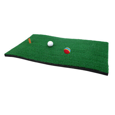 Golf Fairway Mat Home Practice Training Mat with Tee Holder Balls C#