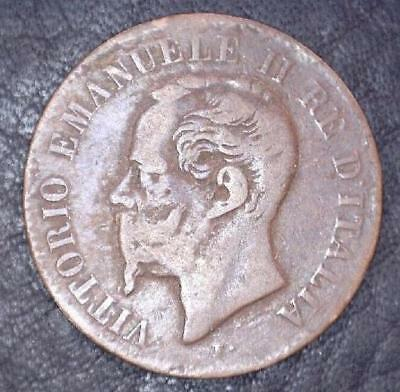Italy 1867 M Coin - 2 Centisimi *Special* (IT2-20171)