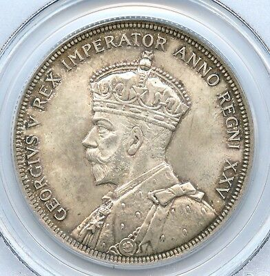 1935 Canadian Silver Dollar, PCGS MS 64
