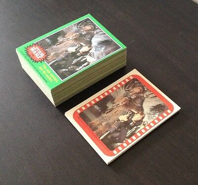 """1977 Topps """"Star Wars Series 4"""" - Complete Set of 66 Cards + 11 Stickers - NM/MT"""