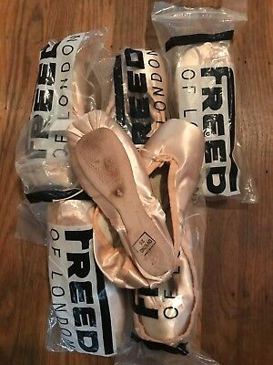 Freed Classic Pointe Shoes, size 4.0 XX, hard shank, various makers, NEW!