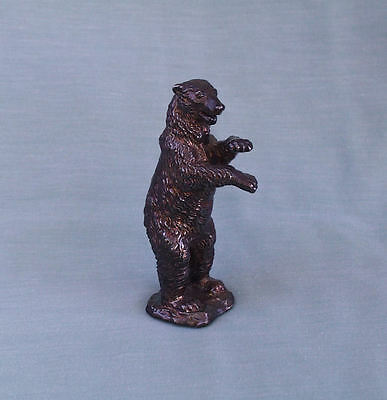 Polar Bear Standing High Detail Mid Century Sterling S Figure Israel,exquisite