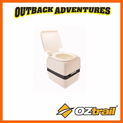 Oztrail Portable Camping Toilet Royale 21L