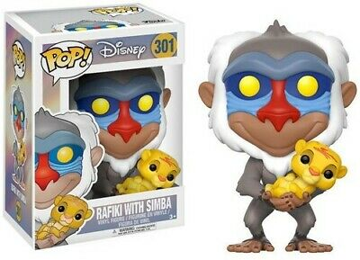 Funko Pop! Disney: Lion King - Rafiki Holding Baby Simba [New Toy] Vinyl Figur