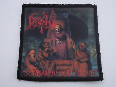 Death Scream Bloody Gore Sublimated Patch
