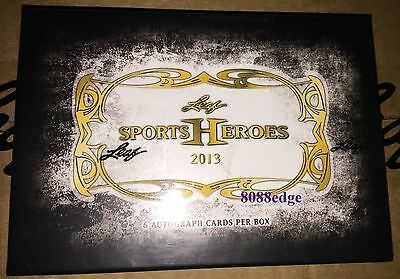 2013 Leaf Sports Heroes Sealed Box: Jack Nicklaus/howie/tyson/alex Morgan Auto