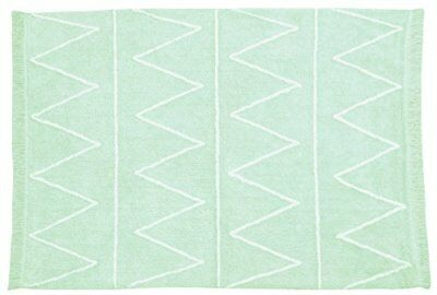 Lorena Canals C-HY-G Hippy Mint Washable Rug, Verde