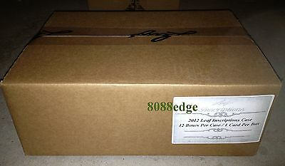 2012 Leaf Inscriptions Factory Sealed Case(12 Hobby Boxes):mike Tyson/rg3/pippen
