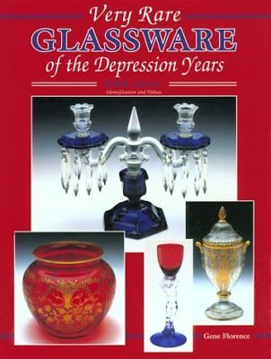 Very Rare Glassware of the Depression Years, Fifth