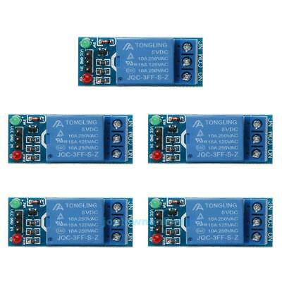5pcs 1 Channel DC 5V Relay Switch Module for Arduino Raspberry Pi ARM AVR #JT1