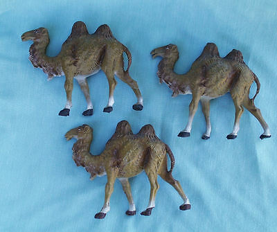 FONTANINI 1940's CRECHE CAMEL FIGURE COMPOSITION MADE IN ITALY LOT 3