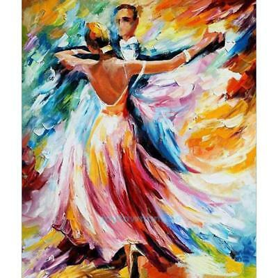 Full Drill Dancing 5D Diamond DIY Painting Craft Kit Embroidery Home Decor Art