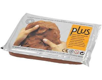 Air Drying  Modelling Clay - Terracotta Coloured - 1kg | Modelling Crafts