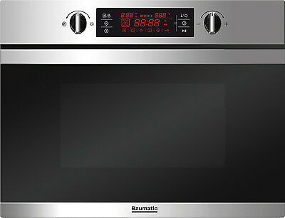 Baumatic BMC450SS 44 Litre Integrated Combination Microwave Oven