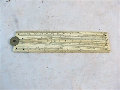 12 Inch Single Fold Ruler By W & S Jones No 30 Holborn, London C1890'S