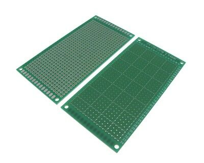 5x10CM Single Side Prototype Board Perforated Through Hole 2.54mm - Pack of 2