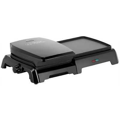George Foreman 23450 Grill & Griddle Health Grill Black New from AO