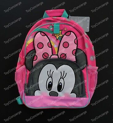 DISNEY Store BACKPACK MINNIE MOUSE School Book Bag 2017 NWT