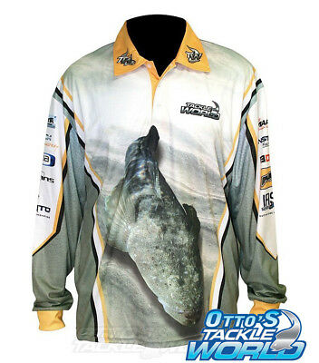 Tackle World 2015 Flathead Shirt - CLEARANCE - Brand New at Otto's Tackle World