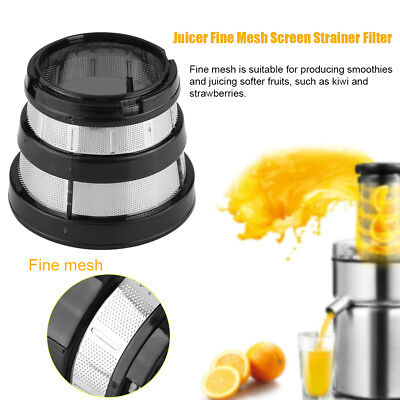 Slow Juicer Fine Filter Mesh Strainer Small Hole for Hurom HH-SBF11 HU-19SGM HG