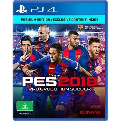 Pro Evolution Soccer 2018 Aussie Premium Edition (PS4) Australian Version PES 18