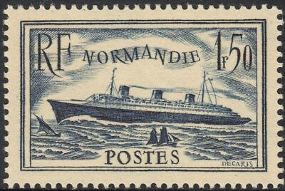 France 1935 1f.50 Blue Normandie MLH