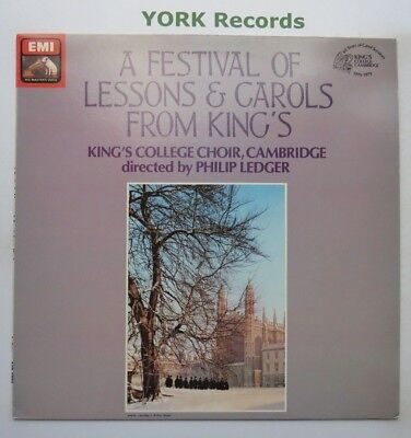 ASD 3778 -  A FESTIVAL OF LESSONS & CAROLS FROM KING'S - Ex Con LP Record
