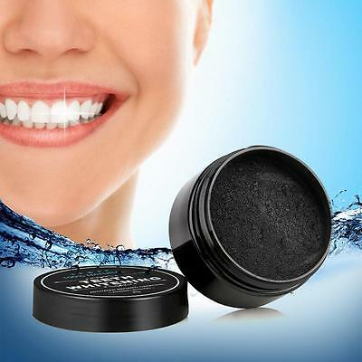 Natural Teeth Whitening Powder Organic Activated Charcoal Bamboo Teeth White r6~