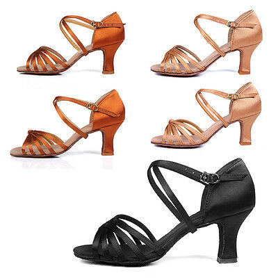 NEW Professional Women Girl lady's Latin Ballroom Tango salsa Dance Shoes heeled