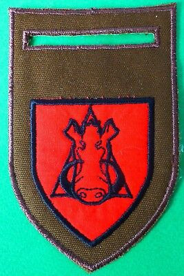 South Africa Army Donkin Commando Wild Pig Boar Wart Hog Scarce Arm Patch #1