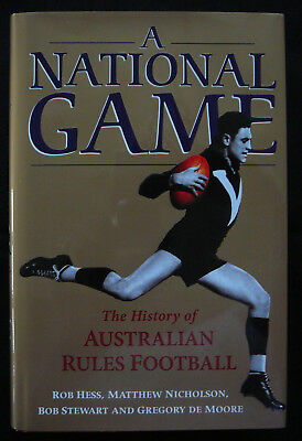 A NATIONAL GAME - The History of Australian Rules Football