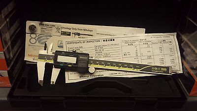 "Genuine Mitutoyo 6"" (0-150mm) Digital Caliper 500-196-30.."