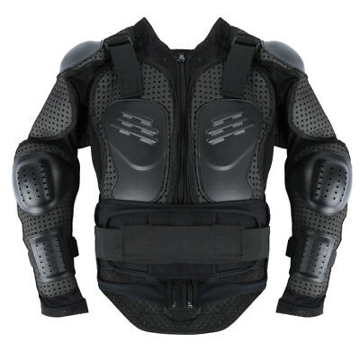 Motorcycle Motorcross Racing Full Body Armor Spine Chest Protector Jacket FP8