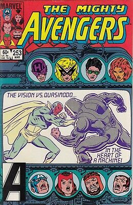 """AVENGERS  253.......VF/NM.....""""Conquering Vision""""...1985...Bargain!"""